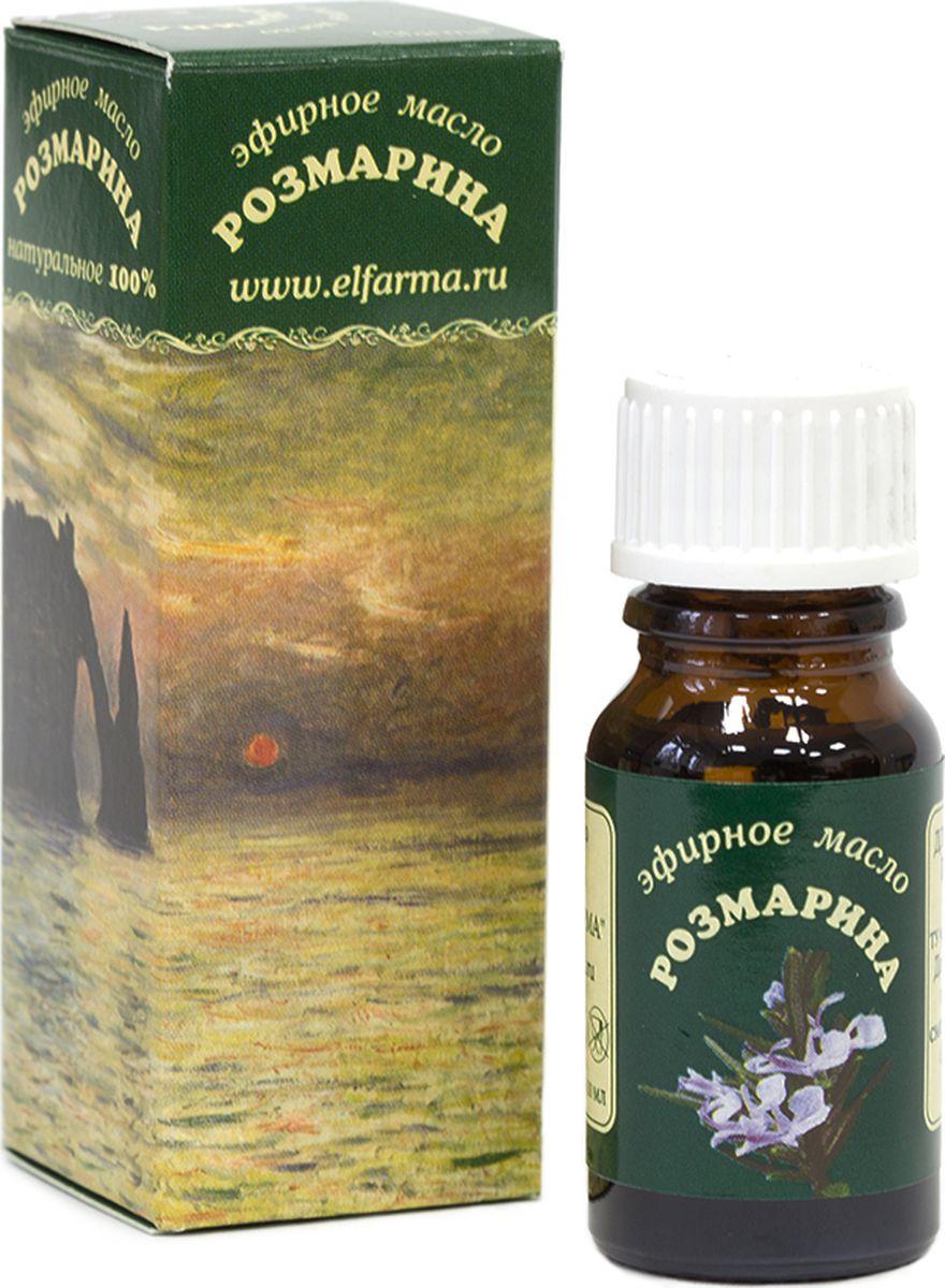 Elfarma Эфирное масло Розмарина, 10 мл00000001028Розмарин – «трава сердца». Сильное тонизирующее средство. Популярно среди занимающихся умственным трудом.