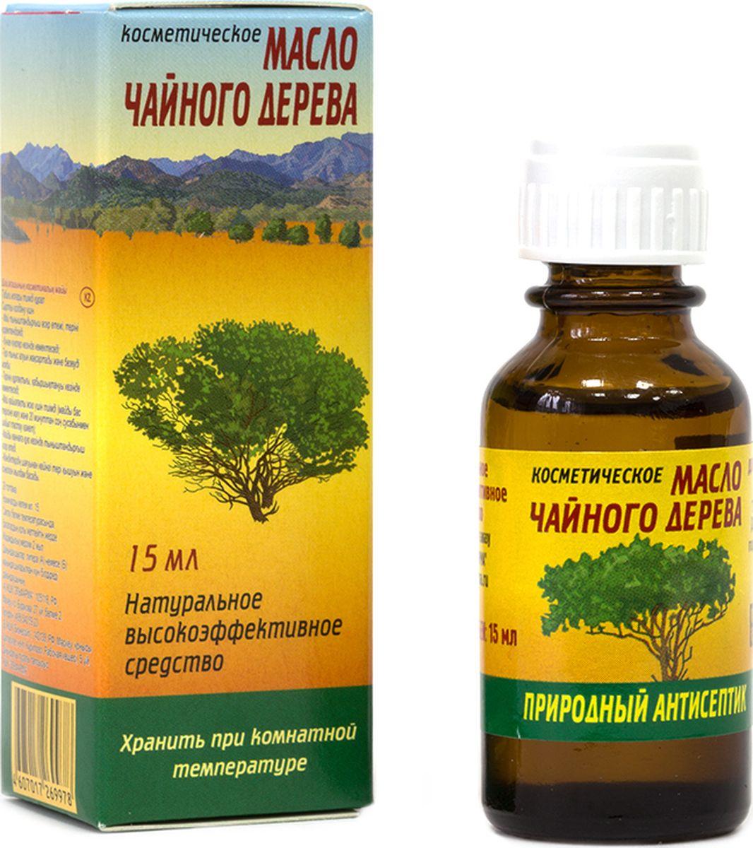 Elfarma Косметическое масло Чайного дерева, 15 мл4626018134047Природный антисептик, Широчайший спектр применения. Для очищения лица, удаления перхоти. От укусов насекомых.