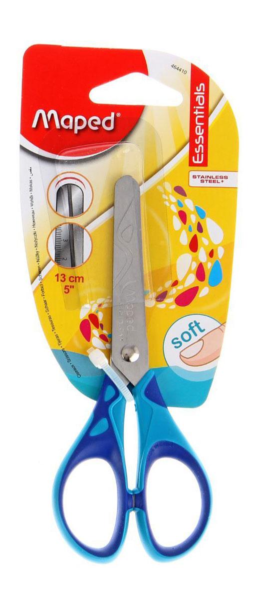 Maped Ножницы Essentials Soft цвет синий голубой 13 см