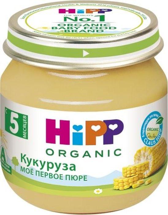 Hipp пюре кукуруза, мое первое пюре, с 5 месяцев, 80 г9062300125105Пюре Hipp Кукуруза рекомендуется как одно из первых блюд прикорма, так как кукуруза относится к наименее аллергенным продуктам и поэтому достаточно широко используется в детском питании. Она не содержит глютена (белок злаковых культур). В зерне кукурузы находятся важные для организма человека минеральные вещества: соли калия, кальция, магния, железа, фосфора и богатый набор витаминов - А, В1, В2, В3, В6, В9, В12, С, D, Е, Н, К3, РР. Ее белок содержит незаменимые аминокислоты лизин и триптофан. Блюда с добавлением кукурузы имеют замечательные вкусовые качества.