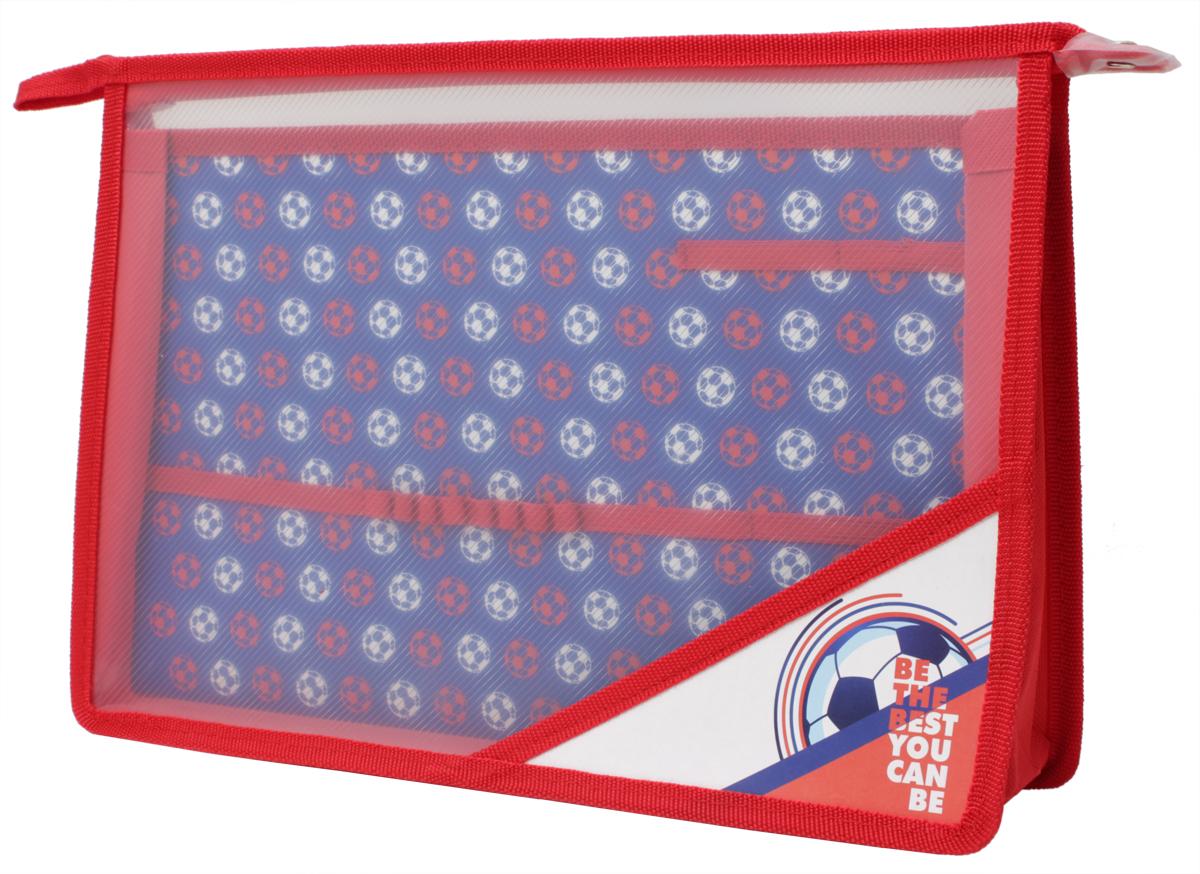 Феникс+ Папка для уроков труда Футбольный Матч43642Папка для уроков труда на молнии.Формат: А4.Размер: 33х23,3 см.Материал: пластик. Внутренний блок для канцелярских принадлежностей.