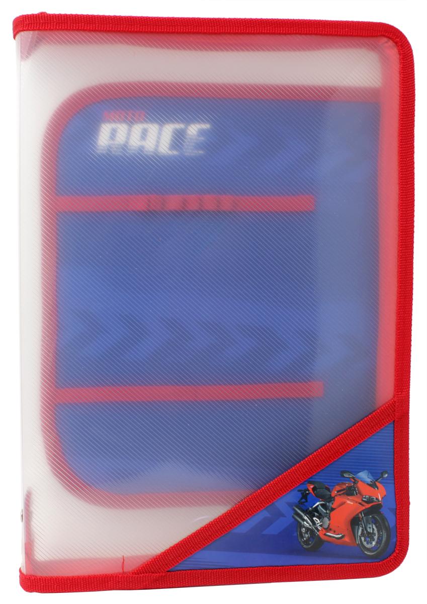 Феникс+ Папка для уроков труда Красный МотоциклAVp_40004_салатовыйПапка для уроков труда на молнии.Формат: А4.Размер: 33х23,3 см.Материал: пластик. Внутренний блок для канцелярских принадлежностей.