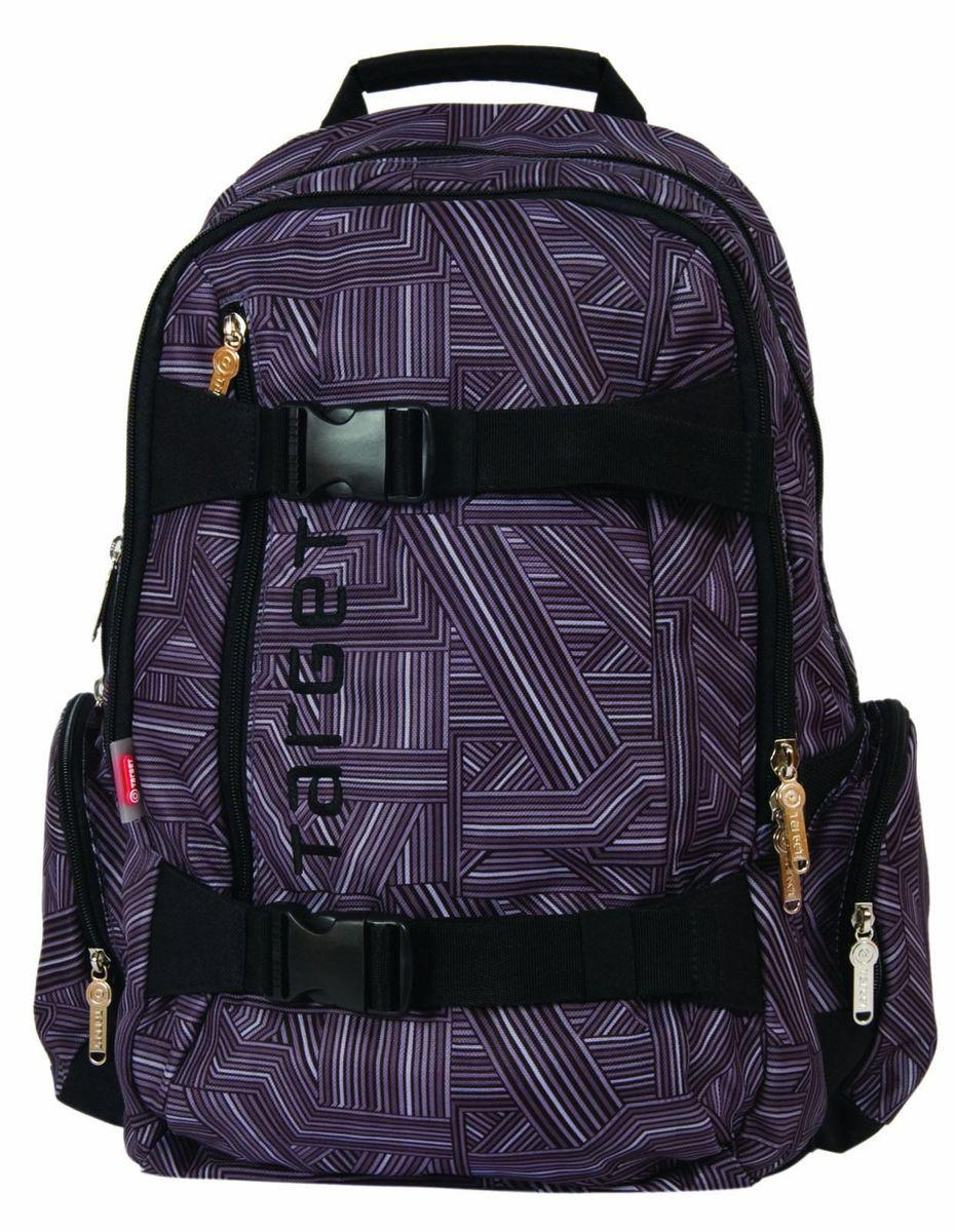 Target Collection Рюкзак Maze657254Рюкзак имеет мягкую заднюю панель, регулируемые мягкие плечевые ремни и застежку между ними. Прочная верхняя ручка позволяет носить рюкзак в руке. Рюкзак подходит для школы, а также для занятий спортом и проведения досуга. Рюкзак сделан из высококачественного водонепроницаемого материала. Вмещает в себя ноутбук 15 дюймов, 32 литра. Размер: 47 ? 31 ? 22 см.