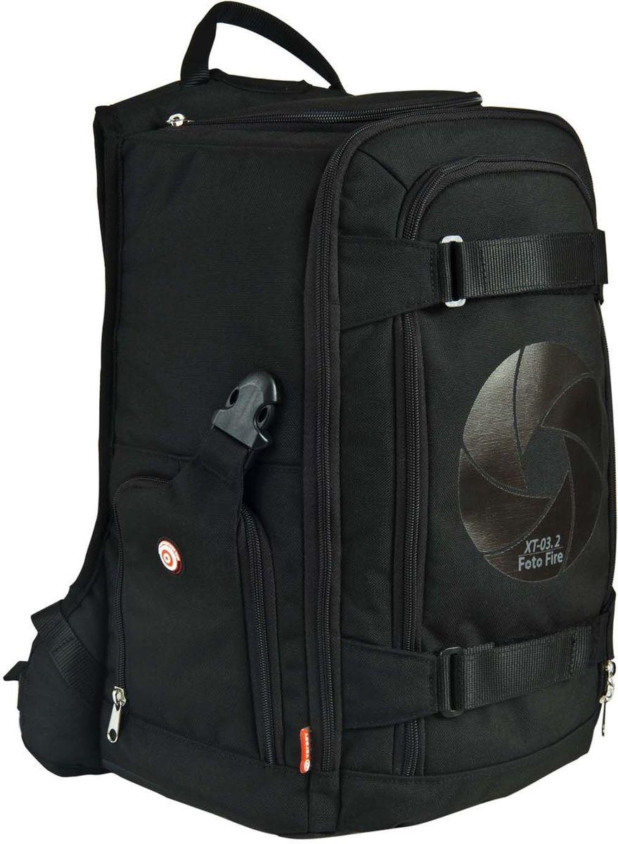 Target Collection Рюкзак для фотоаппарата Stealth1007660Рюкзак создан, чтобы удовлетворить ваши повседневные потребности защитить ваши камеры, объективы и вспышку. Этот рюкзак имеет верхний отсек для профессионального фотоаппарата ,два наружных кармана для быстрого доступа, чтобы захватить камеру в одно мгновение, отдельный карман под ноутбук, универсальные передние и боковые ремешки для штатива, 3 сетчатых кармана для аксессуаров. Вмещает 40 литров. Размер: 48 ? 33 ? 26 см.