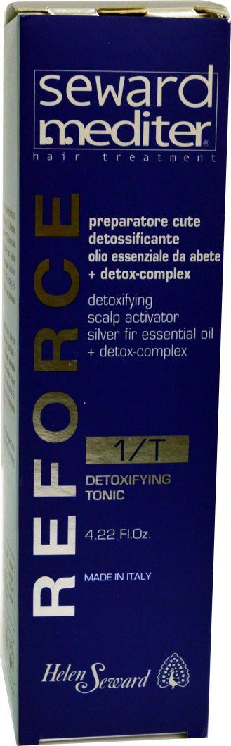 Helen Seward Detoxifying Tonic 1/T Очищающий тоник детокс для кожи головы, 125 млPA0110Действие очищающий тоник для кожи головы Helen Seward направлено на нейтрализацию токсинов и эффективное очищение кожи головы. Масло пихты и Detox-Complex оказывают стимулирующее воздействие, улучшая кровообращение и стимулируя рост волос. Тоник обладает антивозрастным свойством, мягко и бережно ухаживает за волосами. Наиболее эффективный при использовании с другими препаратами одной из трихологических программ Helen Seward.