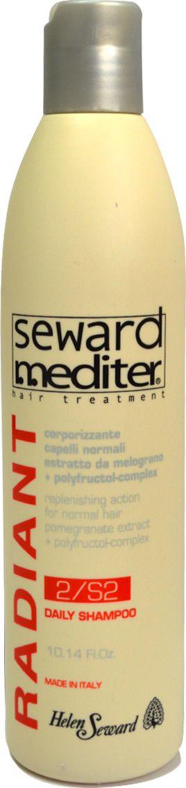 Helen Seward Daily Shampoo 2/S2 Ежедневный шампунь для нормальных волос, 300 мл0216Основная задача шампуня Helen Seward для нормальных волос – глубокое восстановление и придание здорового вида. Мягкая формула шампуня позволяет использовать его для частого мытья. Гранат и полифруктовый комплекс в составе средства отлично справляется с загрязнениями и освежает. Увлажняющее действие активных компонентов заметно уже после первых применений. Волосы становятся послушными, наполненными жизненной силой и приобретают ухоженный вид.