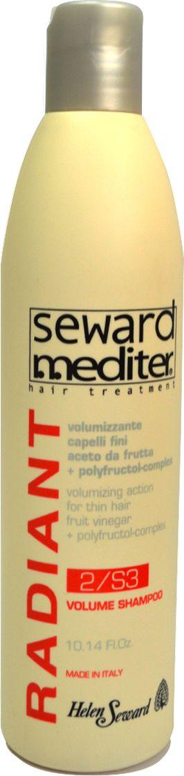 Helen Seward Volume Shampoo 2/S3 Ежедневный шампунь объем для тонких волос, 300 мл0217Ежедневный шампунь-объем – это настоящая находка для обладательниц тонких волос. Фруктовый уксус и полифруктовый комплекс обеспечивают нежный и деликатный уход, мягко очищают волосы и позволяют надолго сохранить ощущение свежести. Регулярное применение шампуня позволит придать даже самым безжизненным волосам объем и привлекательный блеск. Купить Helen Seward Volume Shampoo – значит, подарить Вашим волосам праздник.