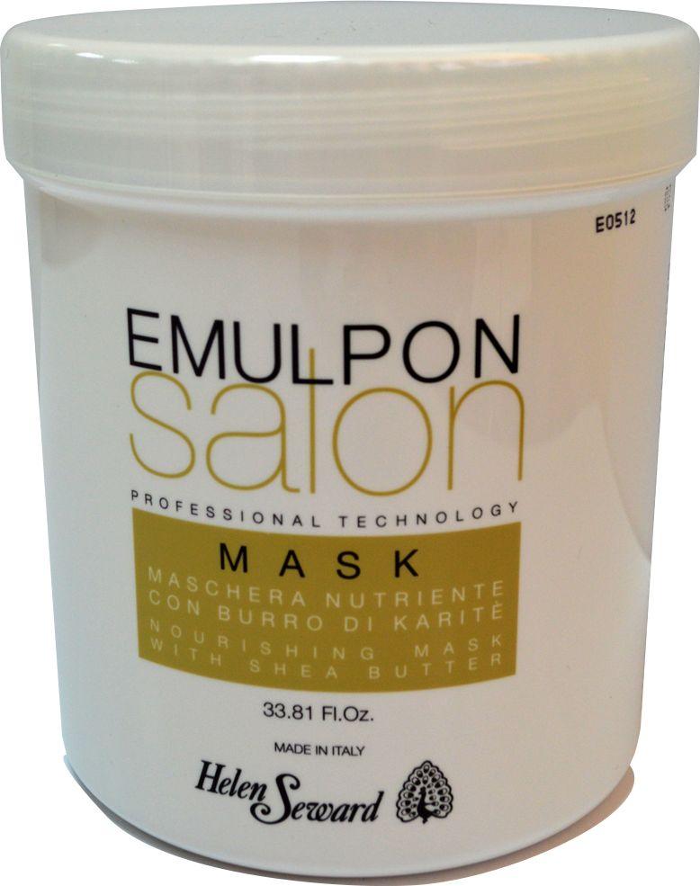 Helen Seward Emulpon Salon Nourishing Mask Питательная маска, 1000 мл8210Осуществляет эффективное питательное действие, оказывая немедленный распутывающий и антистатический эффект. Обогащенная протеинами пшеницы,особенно подходит для сухих волос, восстанавливает объем, блеск и мягкость, не утяжеляя волосы.