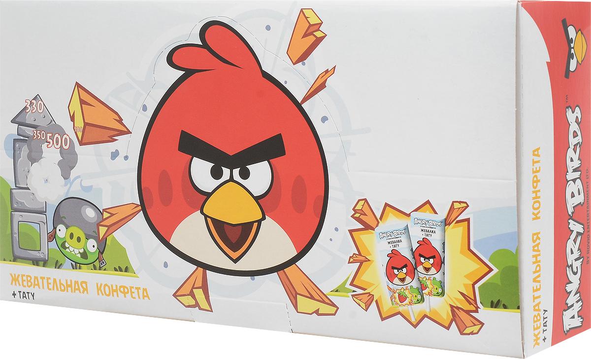 Конфитрейд Angry Birds Movie жевательная конфета с подарком, 50 шт по 10,8 гУТ19955Жевательная конфета на палочке со вкусом клубники + тату.Уважаемые клиенты! Обращаем ваше внимание на то, что упаковка может иметь несколько видов дизайна. Поставка осуществляется в зависимости от наличия на складе.