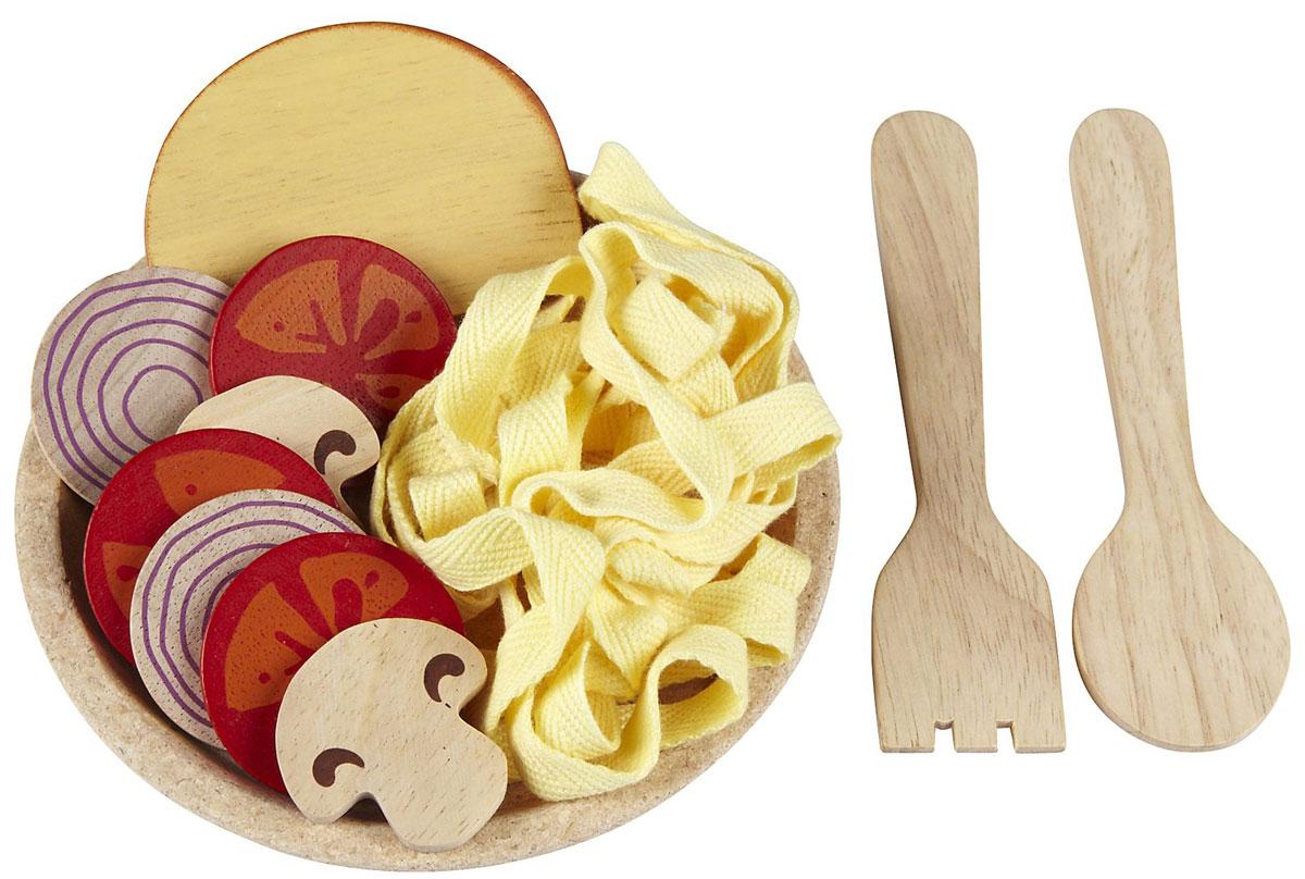 Plan Toys Игрушечный набор Спагетти с овощами plan toys с тестом