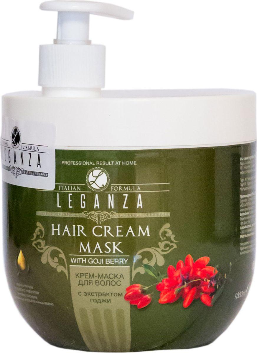 Leganza Крем-маска для волос с экстрактом годжи, 1000 мл годжи это барбарис где в миассе