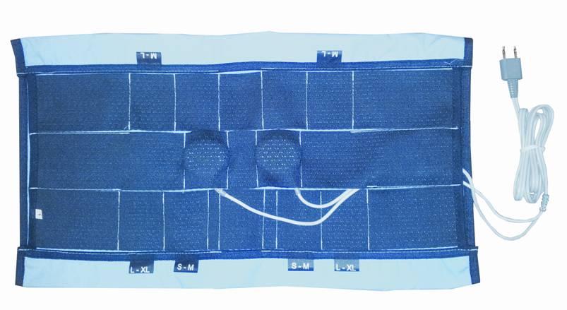 Манжета фиксирующая пояснично-грудная для аппаратов серии Витафон2256Предназначена для фиксации 6-ти виброфонов при лечении грыжи межпозвоночного диска (на область К - два виброфона, на область грыжи - 4 виброфона). Для удобства применения рекомендуется приобрести дополнительно виброфон В1. Для индивидуального применения