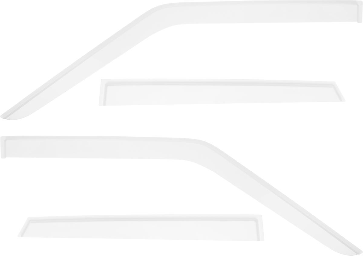 Ветровик REIN, для Ваз 2109 1987-2006 / 2199 1990-2004 / 2114 2003-2014 / 2115 1997-2013, цвет: белый, на накладной скотч 3М, 4 штVCA-00Ветровики REIN разрабатываются индивидуально под каждую модель автомобиля. При разработке используются современные технологии 3D-сканирования и моделирования, благодаря чему удается точно повторить геометрию кузова автомобиля. Важным фактором успеха продукта является качество используемых материалов. Для дефлекторов REIN используется традиционный материал – полиметилметакрилат (PMMA), обладающий оптимальными свойствами для производства ветровиков: высокая прочность и пластичность, устойчивость к температурным колебаниям и внешним химическим воздействиям. Ведется строгий входной контроль поступающего сырья, благодаря чему удается избежать негативного влияния разнотолщинности листов на геометрию изделий. Для крепления ветровиков в комплекте предусмотрен специализированный скотч 3М, благодаря чему достигается высокая адгезия.