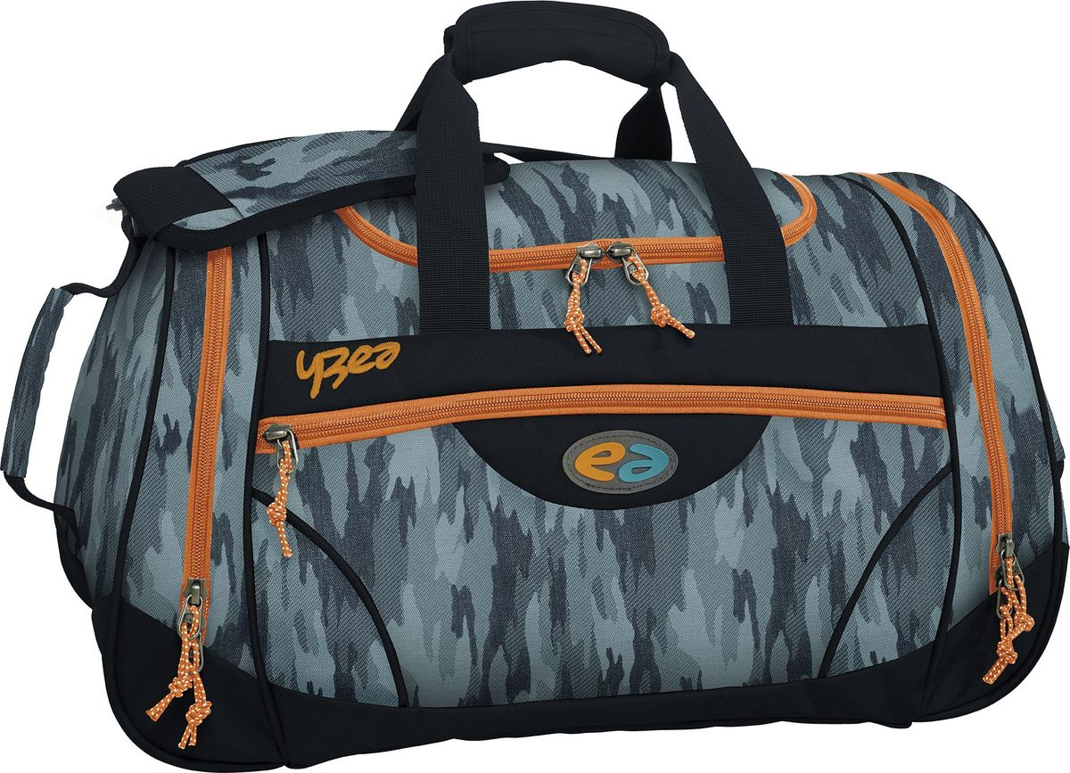 Thorka Сумка спортивная YZEA Sports Камо72523WDИдеальная спортивная сумка, когда речь заходит о спорте и фитнесе. Несколько разных функциональных отделений, включая отделение для мокрой одежды. Размер 52*27*26 см, объем 32 л