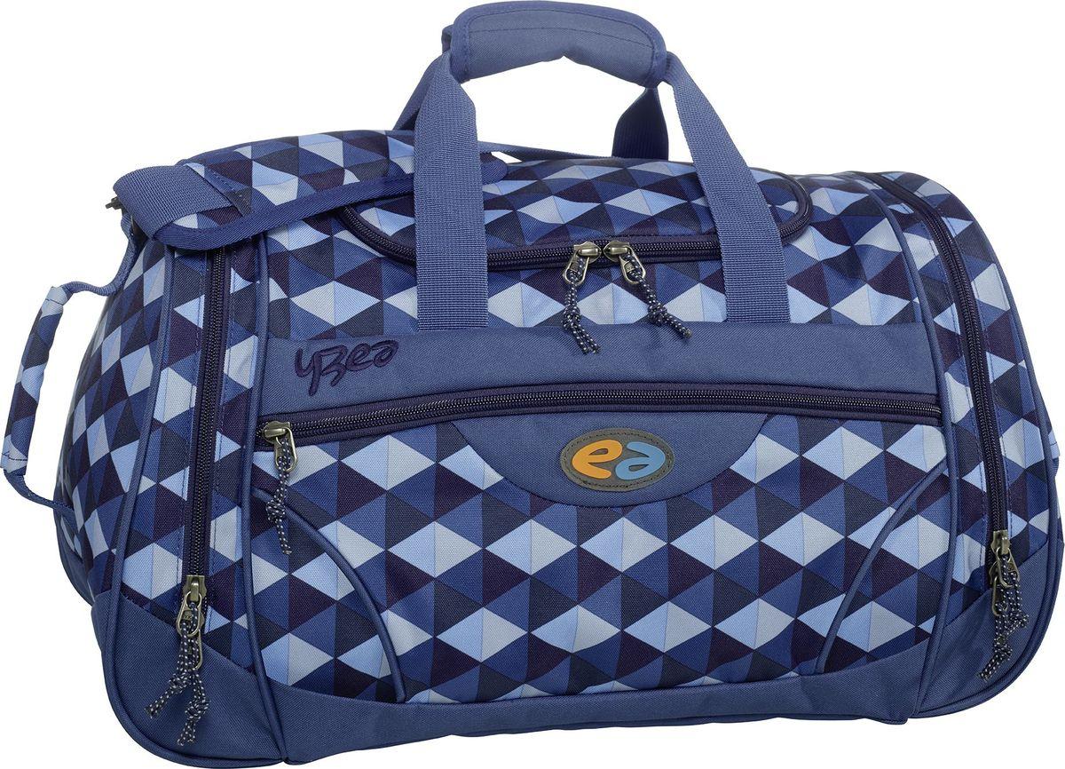 Thorka Сумка спортивная YZEA Sports Облако7687Идеальная спортивная сумка, когда речь заходит о спорте и фитнесе. Несколько разных функциональных отделений, включая отделение для мокрой одежды. Размер 52*27*26 см, объем 32 л