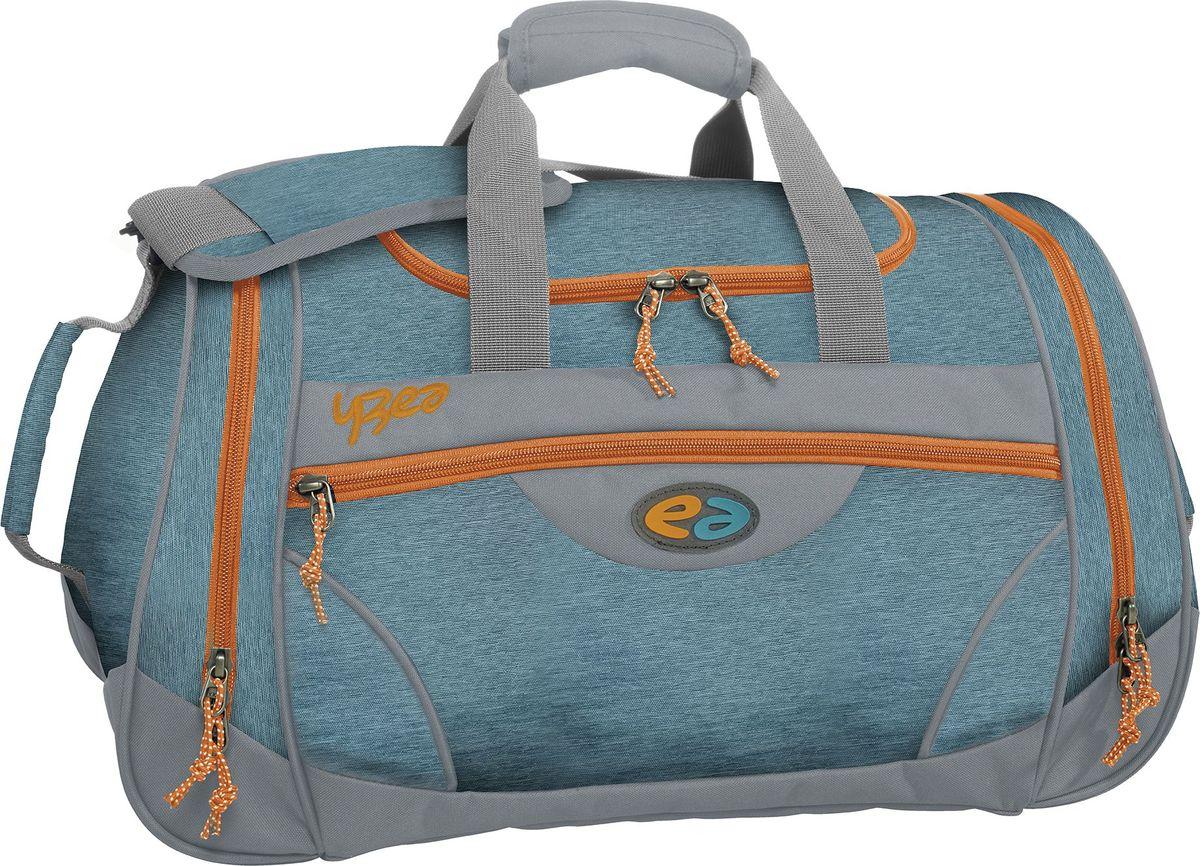 Thorka Сумка спортивная YZEA Sports Волна7687Идеальная спортивная сумка, когда речь заходит о спорте и фитнесе. Несколько разных функциональных отделений, включая отделение для мокрой одежды. Размер 52*27*26 см, объем 32 л