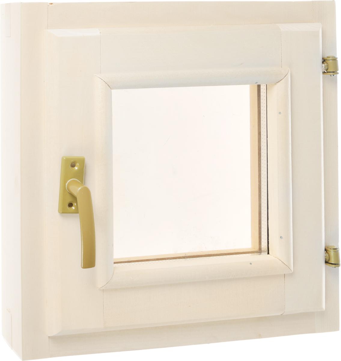 Форточка со стеклопакетом Банные штучки, 40 х 40 смK100Горизонтальная форточка со стеклопакетом Банные штучки изготовлена из липы и имеет вставку из стекла. В комплект входит: - Створка с однокамерным стеклопакетом (2 стекла); - Коробка из липы; - Петли; - Врезной замок; - 4 самореза; - Ручка-затвор. Форточка уже собрана и готова к использованию, вам только достаточно прикрутить ручку и установить стеклопакет в проем. Окна и форточки в парной используют для быстрого выветривания влаги в помещении после банных процедур. Это продлевает срок службы деревянной обшивки, снижается риск образования плесени и грибка внутри помещения. Характеристики:Материал: дерево (липа), металл, стекло. Размер форточки: 40 см х 40 см. Размер упаковки: 41 см х 10 см х 41 см.