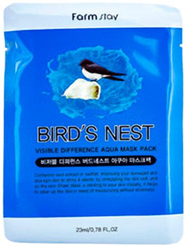 FarmStay Тканевая маска с экстрактом ласточкиного гнезда, 23 г
