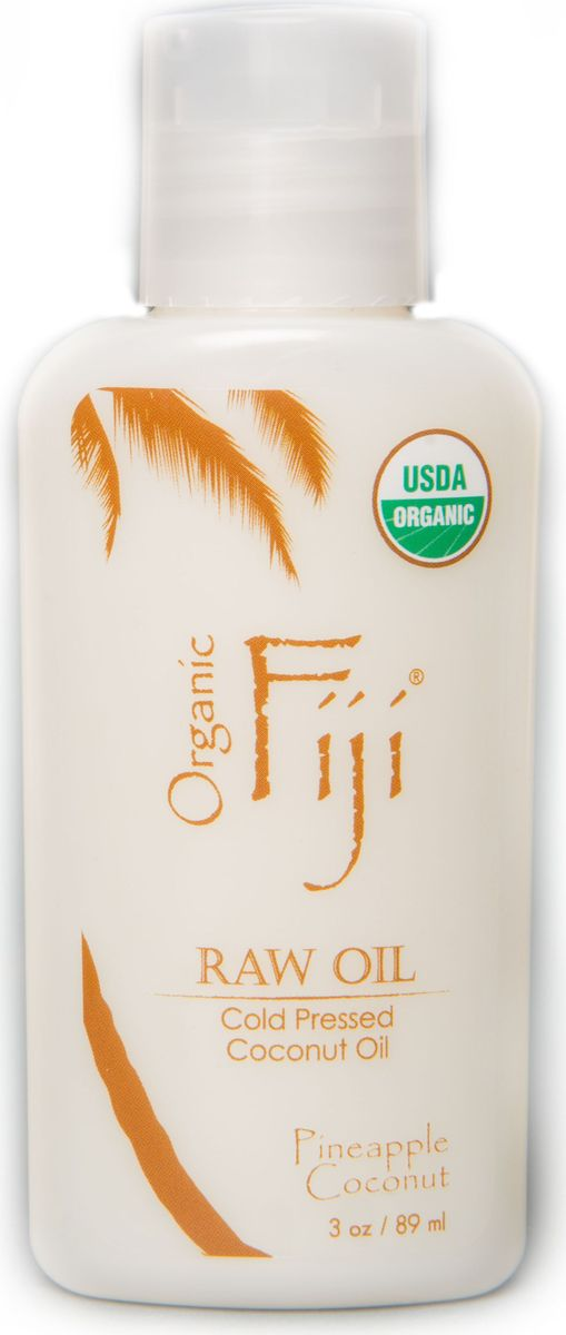 Organic Fiji Органическое кокосовое масло, ананас, 89 млO-0831Сладкий Ананас и экзотический Кокос идеально сочетаются, создавая атмосферу тропического пляжа. Сертифицированное нерафинированное Кокосовое масло добывается методом холодного отжима, тем самым сохраняет в себе все полезные компоненты. Его уникальная молекулярная структура обладает увлажняющими, питательными и лечебными свойствами. Органическое Кокосовое масло используется в уходе за кожей лица и тела, для снятия макияжа, активно борется с морщинами. Так же можно использовать в уходе за волосами и лечении кожи головы. Рекомендуется использовать для массажа детям с младенческого возраста. USDA сертифицированная органическая косметика.