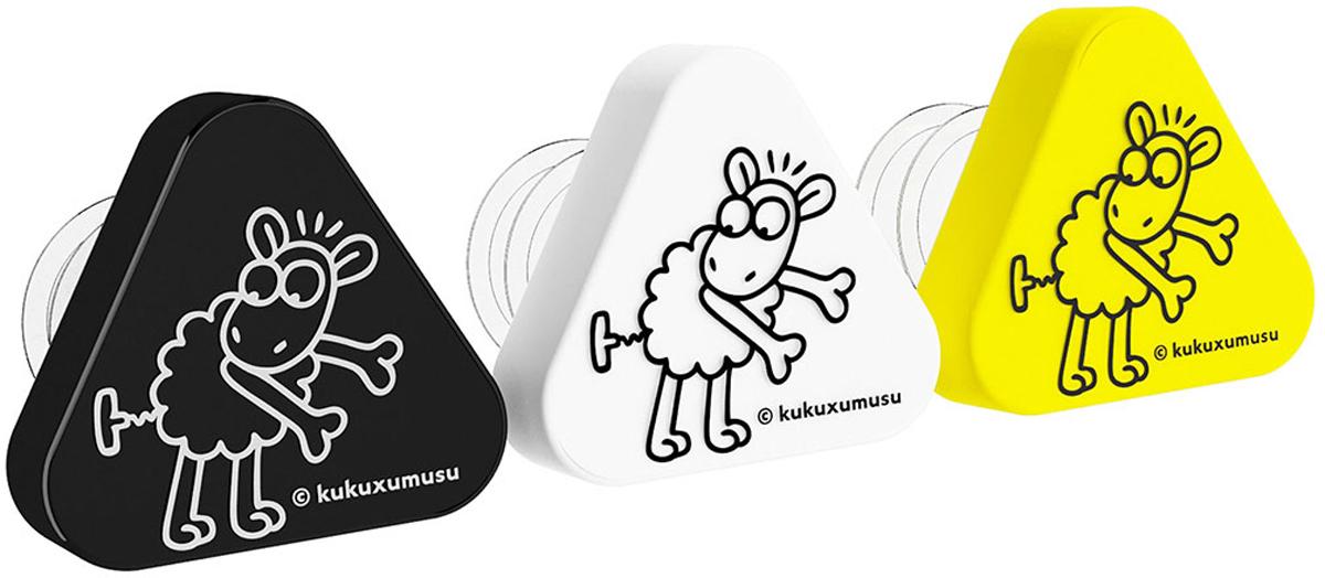 Пробка-каплеуловитель Koala Kukuxumusu, цвет: желтый, белый, черный, 3 шт66150000Набор пробок-каплеуловителей от известного испанского бренда Koala выполнены в эффектном и узнаваемом стиле коллекции Kukuxumusu. Рекомендованы для использования в домашних условиях, загородных поездках, на выездных мероприятиях. В набор входят белая, черная и желтая пробки.Конкурентные особенности пробок-каплеуловителей Kukuxumusu:- Надежно фиксируются в горлышке, предотвращая вытекание содержимого бутылки.- Обеспечивают идеальное разливание вина без стекающих капель.- Исключают выветривание вина при хранении.- Пробки легко вставлять и извлекать из бутылок.- Стильное дополнение - принт забавной овечки на треугольной крышке.Произведено в Испании. Пробки упакованы в фирменный блистер.