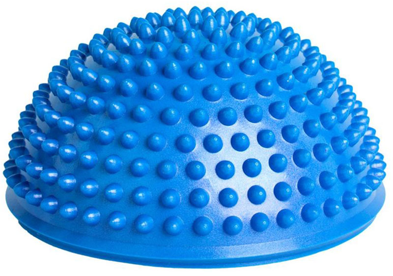 Полусфера балансировочная Bradex, цвет: синийSF 0245Совместите массаж и занятия спортом. С полусферой балансировочной массажной Вы с легкостью проработаете глубокие мышцы, укрепляя мышечный корсет, одновременно стимулируя ткани стоп или ладоней.Получайте наслаждение от занятий спортом, используя полусферу балансировочную массажную.Материал: поливинилхлорид.Размеры:16,5х16,5х9 см.Вес: 260 г
