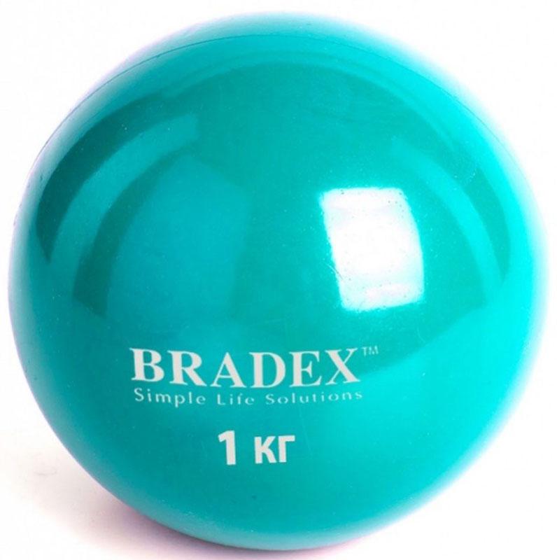 Медицинбол Bradex, цвет: зеленый, 1 кгSF 0256Медбол – это удивительный спортивный снаряд, благодаря которому ваши занятия станут ярче и интереснее. С его помощью вы с легкостью приведете мышцы в тонус, улучшите осанку и координацию. Подберите подходящий вам медбол и наслаждайтесь аэробными и силовыми тренировками.Преимущества:- Идеален для занятий дома, в спортзале и на улице.- Значительно увеличивает эффект от тренировок.- Позволяет качественно и симметрично распределять нагрузку.- Подходит для любого уровня подготовки.- Нескользящая, приятная на ощупь поверхность.