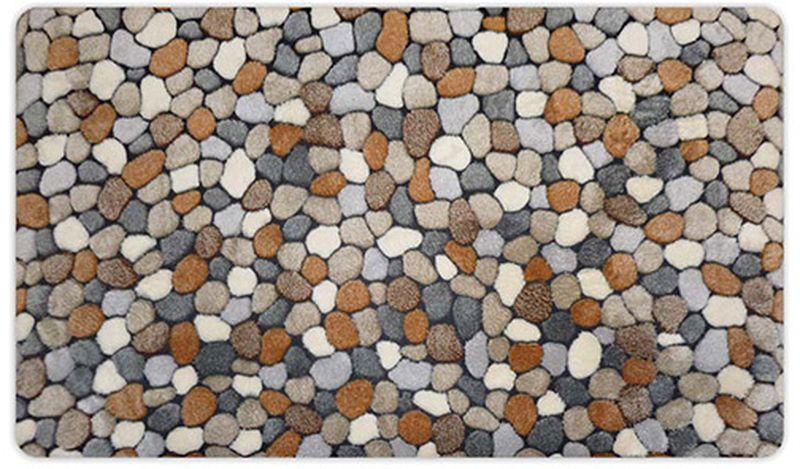 Коврик для ванной Apache Mills OrthoSpa River Rocks Natural, 50 х 85 см4665Эксклюзивная коллекция ковриков с ортопедическим эффектом OrthoSpa от APACHE. Уникальность этого коврика в его основании, которое выполнено из вспененного ПВХ, поэтому обладает преимуществами терапевтической пены: превосходной амортизацией, ударопоглащающей функцией, принимает форму стопы, восстанавлиявая физиологические функции ступней ног и моментально восстанавливает исходную форму. Коврик не утрачивает своих первоначальных свойств даже при длительном использовании, предназначен для использования в ванной комнате, но может служить прикроватным ковриком или использоваться в любом другом удобном для Вас месте. Изделие обладает высокими влаговпитывающими свойствами, не скользит на гладких поверхностях, не выцветает со временем и не линяет при стикре и использовании. Допускается деликатная стирка.