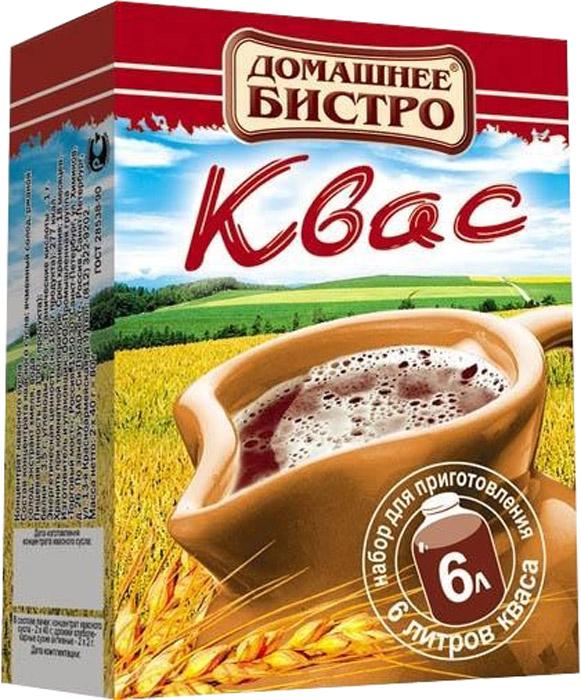 Домашнее Бистро Квас, 124 г00000040712Полезный и вкусный квас всего за 24 часа. 100% натуральный продукт без ароматизаторов, красителей, консервантов, усилителей вкуса и стабилизаторов.