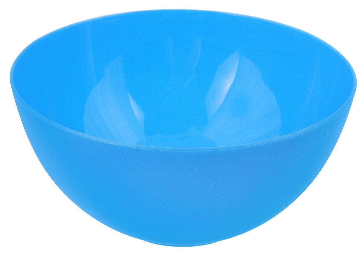 Салатница Oriental Way, цвет: голубой, диаметр 13 см115510Салатница Oriental Way является лучшей емкостью для приготовления летних салатов. Емкость изготовлена из ударопрочного пластмасса, который не сломается при первом ударе или падении. Пользоваться такой посудой можно не только дома, но и на даче, пикнике.Легкость и универсальность салатницы придет по вкусу каждому покупателю.