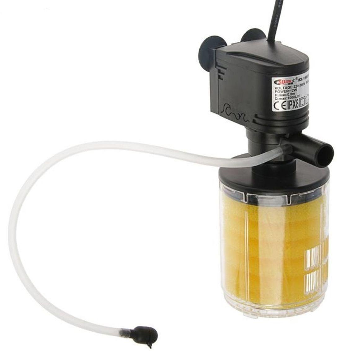 Фильтр камерный для аквариума Sea Star HX-1180F, 12W, 1000 л/ч0120710SEA STAR Камерный фильтр HX-1180F 12W 1000 л/ч