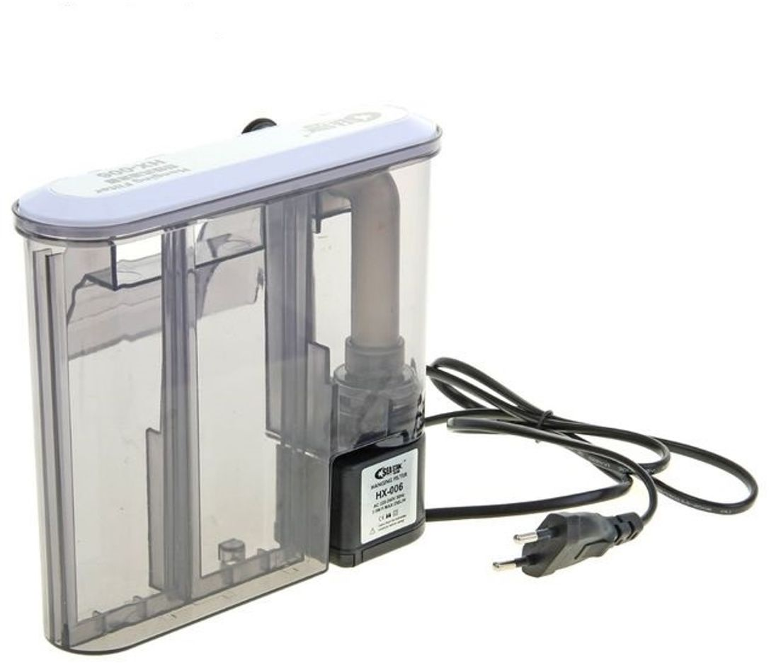 Фильтр наружный для аквариума Sea Star Каскад, с многоступенчатой и эффективной очисткой, 3,5W, 250 л/чНХ-006SEA STAR Наружный фильтр КАСКАД с многоступенчатой и эффективной очисткой 3.5w, 250л/ч