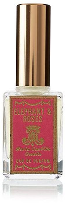 Maria Candida Gentile Парфюмерная вода Elephant And Roses, 15 мл8690973040107Однажды Мария Кандида Джентиле сидела за своим рабочим столом и пыталась придумать формулу аромата, который ассоциировался бы со слоном. К ней в голову пришла картинка и сопутствующий ей запах. Она вообразила стадо слонов на огромном поле из роз цвета яркой фуксии. Слоны топтали эти розы, запах их кожи смешивался с ароматом цветов. Мария медленно взвешивала ингредиенты и слушала аромат, пока не поняла, что это то, что она искала. Для цветочной ноты она выбрала дамасскую розу и смешала ее с анималистичными и кожаными нотами.