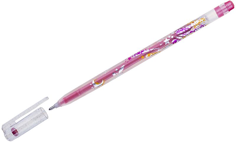 Crown Ручка гелевая Люрекс краснаяMTJ-500GLS(D)В гелевой ручке Crown содержатся специальные чернила, в состав которых входит вода и масляная основа. Добавление блесток в чернила делают идеальным инструментом для оформительских работ. Водостойкие чернила хорошо пишут в холодную погоду и долго не выцветают. Диаметр пишущего узла – 1 мм.