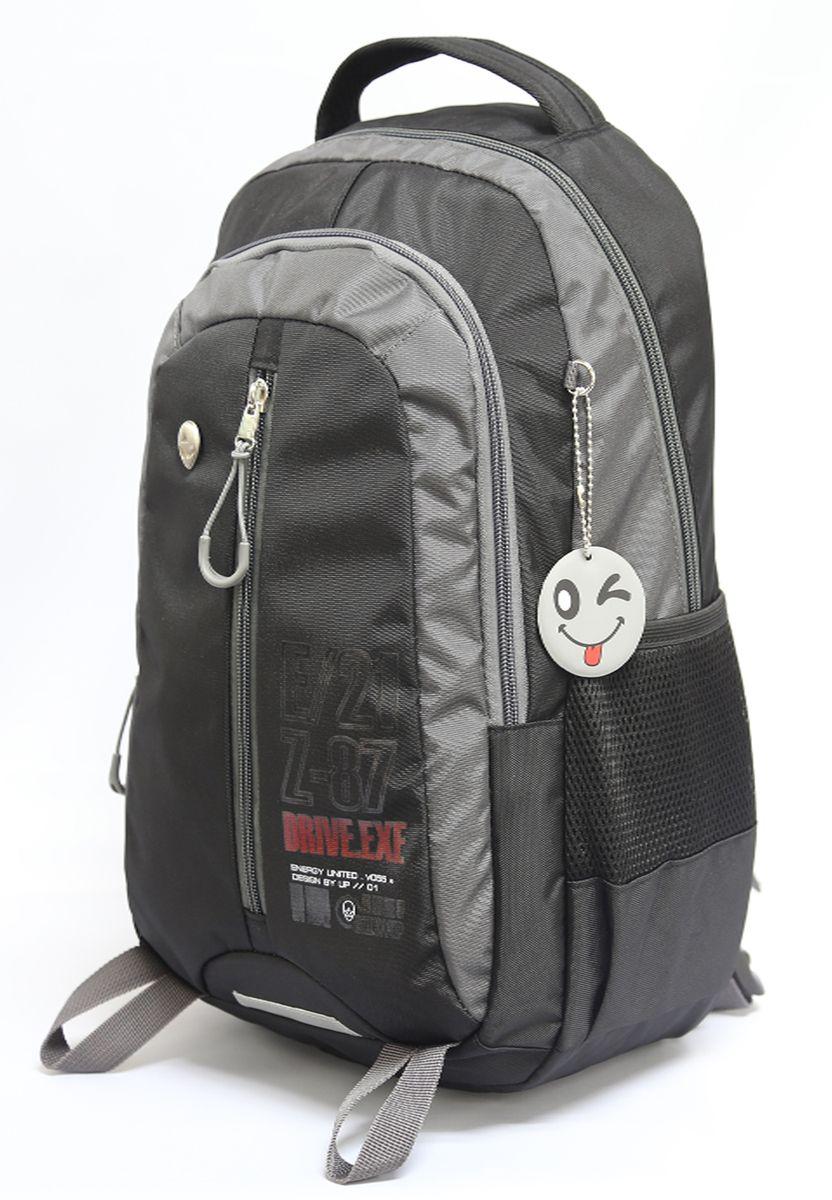 Рюкзак детский UFO people цвет серый 76297629
