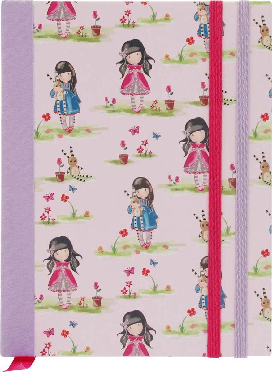 Santoro Тетрадь Ladybird Pastel Print72523WDТетрадь в твердой обложке с закладкой - Ladybird Pastel Print