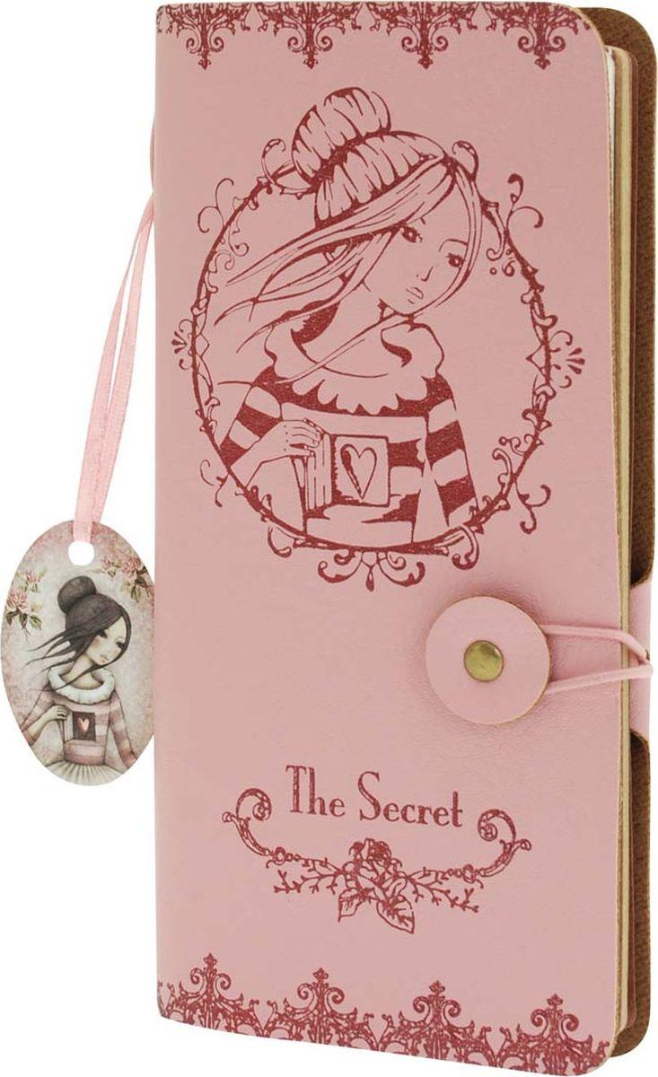 Santoro Записная книжка The Secret0013263Элегантная записная книжка на пуговице и с обложкой из искуственной кожи идеально подходит для записи заметок или мыслей.