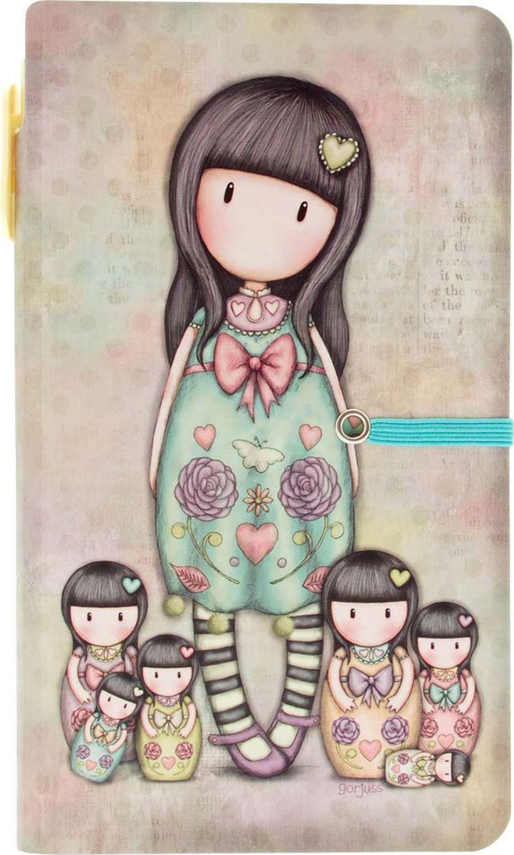 Santoro Блокнот Seven Sisters с ручкой72523WDБлокнот с ручкой - Seven Sisters
