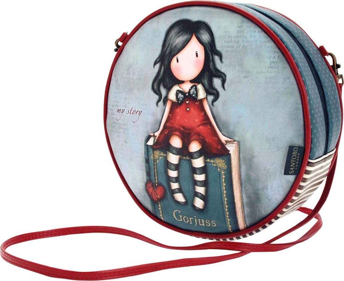 Santoro Сумка детская My Story 00133770013377Сумка Gorjuss со съемным ремешком является шикарным дополнением к любому гардеробу! Шикарная и уникальная, она обязательно подчеркнет ваш стиль!Каждая сумка выполнена вручную.Материал:Наружный: 100% полиуретан. Подкладка: 100% полиэстер.