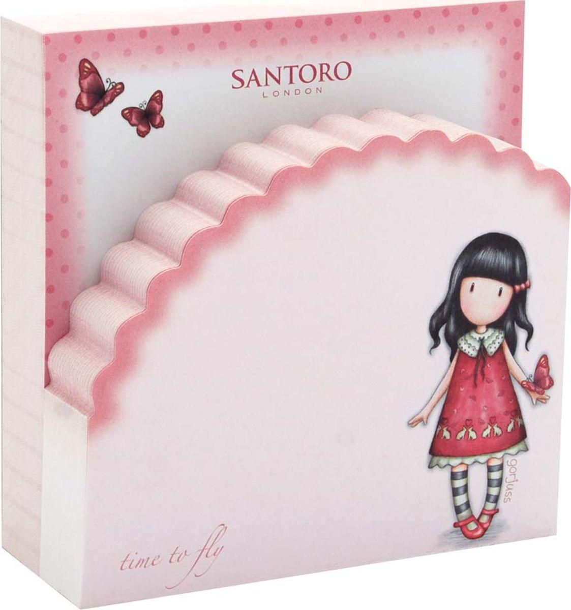 Santoro Бумага для заметок Time to Fly -  Бумага для заметок, стикеры, закладки