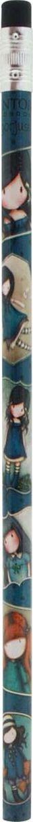 Santoro Карандаш ароматизированный You Brought Me Love0013843Самое приятное дополнение к любому набору канцелярских принадлежностей! У каждого карандаша есть ластик и сладкий уникальный аромат!
