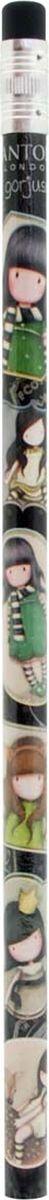 Santoro Карандаш ароматизированный The Scarf0013844Самое приятное дополнение к любому набору канцелярских принадлежностей! У каждого карандаша есть ластик и сладкий уникальный аромат!