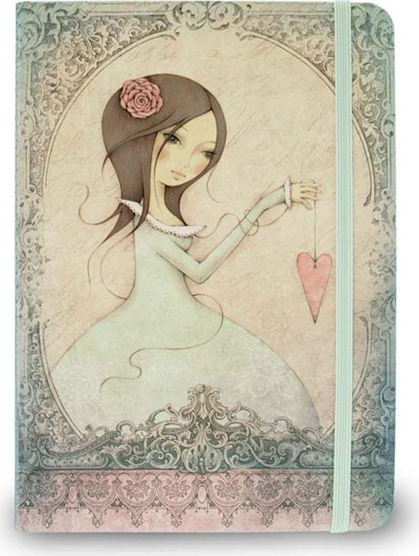Santoro Блокнот All For Love 0013149ENB6CR-11197Блокнот в твердой обложке - All For Love