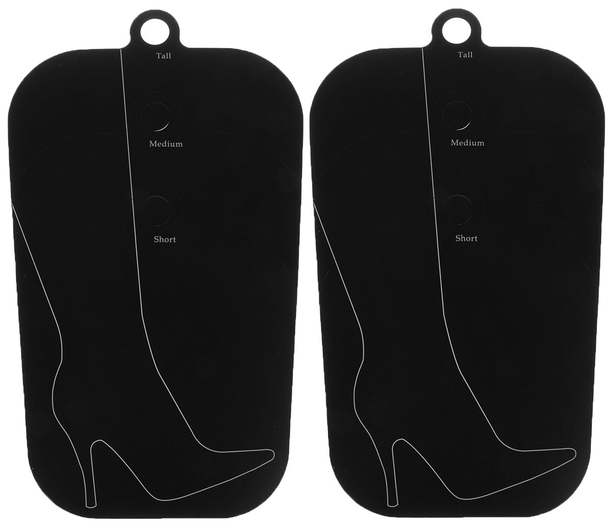 Поддерживающий вкладыш Handy Home, цвет: черный, 40,3 х 27 смIRK-503Поддерживающий вкладыш для обуви Handy Home используются для сохранения первоначальной формы голенища. Подходят для обуви с разной длинной голенища: короткий, средний, длинный. Актуальны при хранении сапог в вертикальном состоянии, это помогает избежать появления заломов. Наличие круглой подвесной ручки позволяет при необходимости хранить сапоги в подвешенном состоянии. В комплекте 2 формодержателя.Длина держателя: 44 см