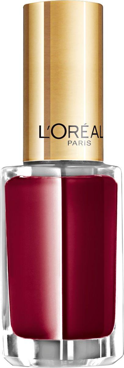 LOreal Paris Лак для ногтей Color Riche, оттенок 403, Роковой Красный, 5 млA6100150Лак для ногтей: стойкое покрытие без сколов и глянцевый блеск до 10 дней! Благодаря уникальной технологии Лак с верхним покрытием 2 в 1 текстура не растекается, а новая кисточка обеспечивает аккуратное и равномерное нанесение. Результат: безупречный вид и ультраглянцевый блеск на протяжении 10 дней.