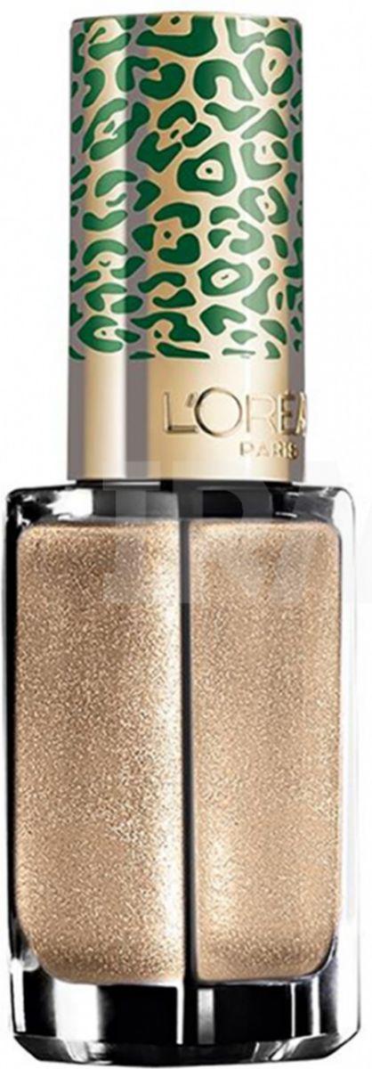 """L'Oreal Paris Лак для ногтей """"Color Riche"""", оттенок 420, Золото джунглей, 5 мл"""