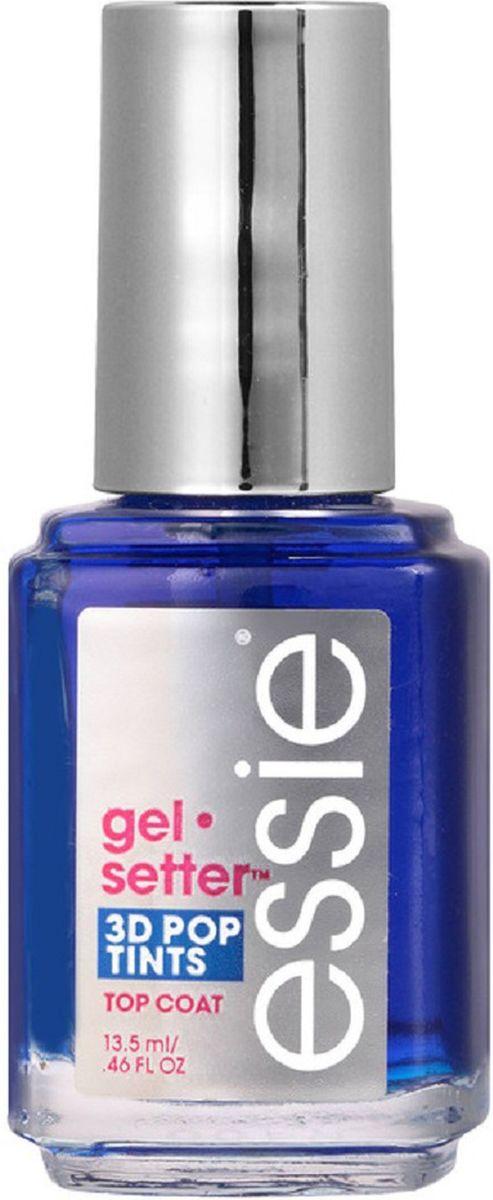 """Essie Гелевое покрытие для ногтей Gel Setter, оттенок Голубой, 13,5 млAS-501/RУвеличьте стойкость и блеск своего любимого лака в 2 раза! С формулой покрытия Эсси Gel setter, обогащенной специальными гелеоборазующими компонентами, вы получите плотное и роскошное покрытие, не уступающее гель-лакам! Топовое покрытие """"Gel setter"""" не требует использования УФ-лампы и легко снимается, не портя ногтевую пластину."""