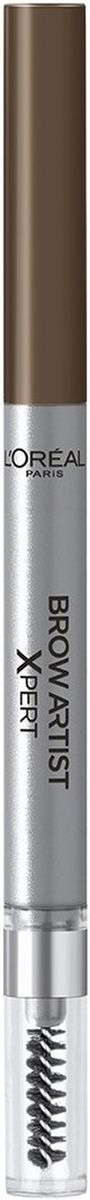 LOreal Paris Механический карандаш для бровей Brow Artist Xpert, Оттенок 105, КоричневыйPMF3000Механический карандаш для бровей для идеально очерченных бровей любой формы.
