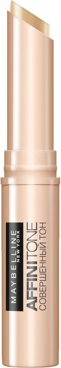 Maybelline New York Консилер от несовершенств Affinitone, оттенок 03, бежевый, 2,3г5010777139655Совершенный корректор. Благодаря плоной кремовой текстуре прекрасно скрывает недостатки, сливается с тоном кожи. Компактный стик легок в использовании. Данный оттенок подходит средней коже с нейтральным подтоном.
