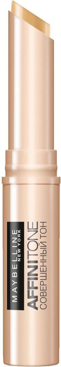 Maybelline New York Консилер от несовершенств Affinitone, оттенок 04, золотистый 2,3гPMF3000Совершенный корректор. Благодаря плоной кремовой текстуре прекрасно скрывает недостатки, сливается с тоном кожи. Компактный стик легок в использовании. Данный оттенок подходит темной коже с нейтральным подтоном.