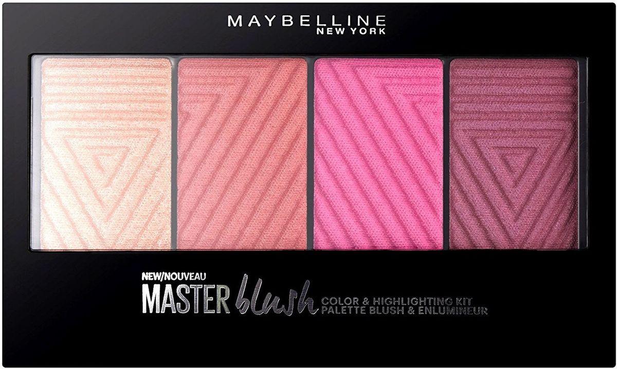 Maybelline New York Палетка румян Face Studio Master Blush PaletteB2911900Палитра румян с нежной как шелк текстурой. Легко наносятся и ровно ложатся. Инновационная упаковка. Оттенки подходят ко всем подтонам кожи и могут сочетаться с любым макияжем. Хайлайтер помогает освежить каждый образ.